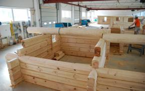log house prefabrication factory